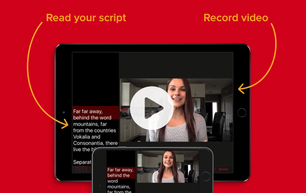 Video-teleprompter-app-for-iPhone