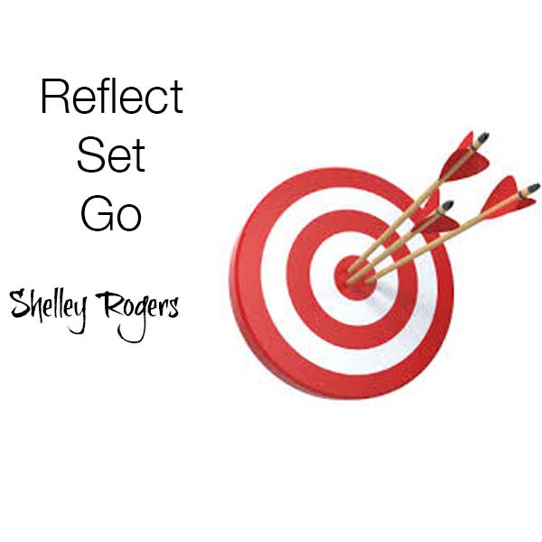 Magic Memories Goal Setting Reflect - Set - Go