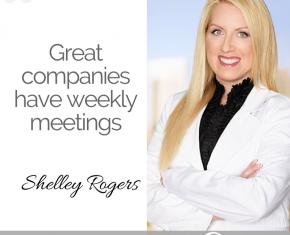 143 – Great Companies Have Weekly Meetings
